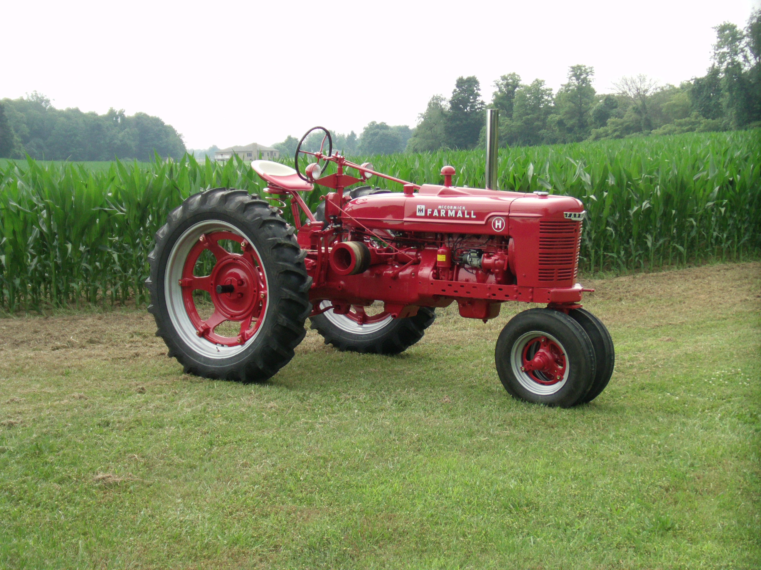 Restoration of a Farmall H antique tractor.