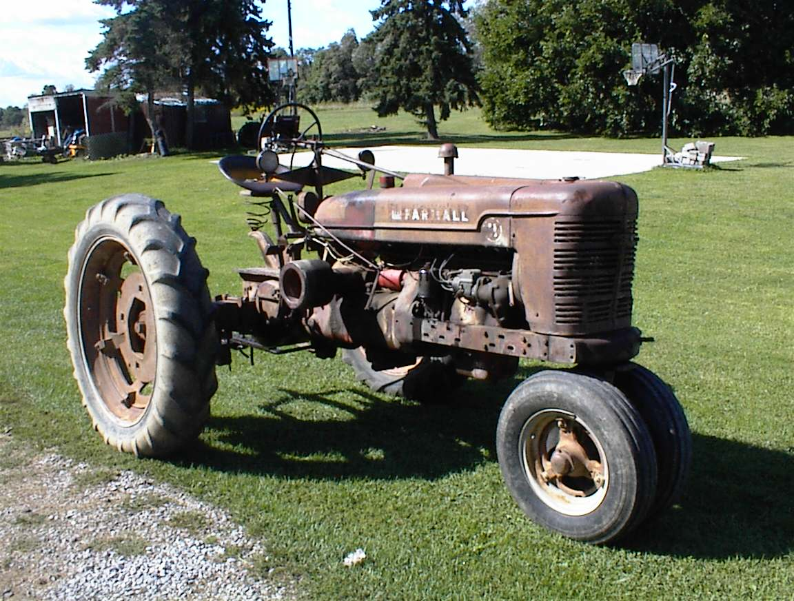 Unrestored Farmall H