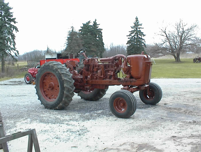 Antique Tractor Restoration